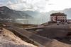 Passo dello Stelvio, Bormio-bound (Italy) (OnTheRoadAgainBlog) Tags: stelvio pass passo alps mountains road serpentines hotel sunset cloud canon 700d folgore driving roadtrip switzerland italy south tyrol