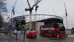 New Spurs ground under construction, Tottenham, North London, March 2018 (sbally1) Tags: spurs tottenham tottenhamhotspur whitehartlane london northlondon football soccer stadium construction nfl americanfootball premierleague