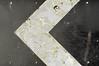 < (Dom Walton) Tags: chevron arrow sign left selectivecolour decay grot landport portsmouth domwalton
