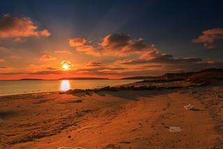 Radiant Sunset