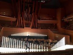 Zimmermann Trio, stage set design (Tero Saarinen Company Photostream) Tags: tscontwocontinents tscinla zimmermanntrio laphil wdch contemporarydance terosaarinencompany setdesign setup waltdisneyconcerthall