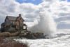 The Shape of Water (Robert Dennis Photography) Tags: thestonehouse bigwaves nor'easter maine kennebunkport