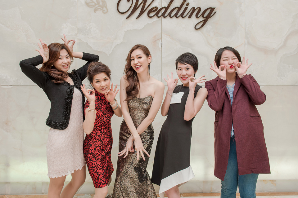 婚攝 高雄林皇宮 婚宴 時尚氣質新娘現身 S & R 170