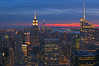 Sunset over Manhattan from the « Top of the Rock »...2014/03. (joelgambrelle) Tags: nikon pointofview topoftherock sunset manhattan
