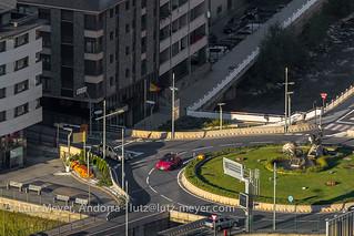 Andorra infrastructure: Escaldes-Engordany, E-E, Andorra city, the center, Andorra
