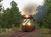 Forestville (GLC 392) Tags: lsi lake superior ishpeming ge u30c forestville road marquette mi michigan smoke iron ore train railroad railway 3008 3000