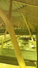 (sftrajan) Tags: madrid spain españa airport barajas barajasairport aeropuerto aeropuertoadolfosuárezmadridbarajas terminal4 luisvidal antoniolamela arquitectura contemporaryarchitecture richardrogers 21stcentury aeropuertodemadridbarajas аэропорт yellow amarillo flughafen aeroporto architecture