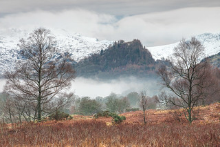 Castle Crag from Manesty Wood