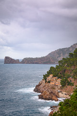 Monuments (Max W!nter) Tags: tramuntana estaca foradada mallorca costanorte sea water nature coast coastal storm clouds winter landscape seascape port puerto harbor nikkor españa exposure waves old historic landmark monumental architecture natural naturaleza