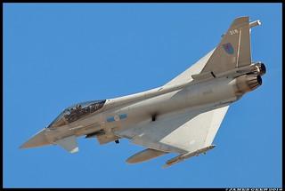 RAF TYPHOON ZK318
