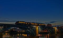 Last train to Transcentral (Matjaž Skrinar) Tags: 100v10f 250v10f