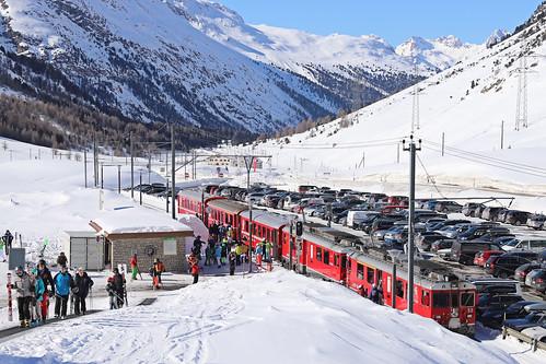 CH RhB 53+RhB 56 Bernina Diavolezza 13-02-2018