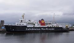 MV ISLE OF ARRAN (fordgt4040) Tags: vessel ship boat nautical firthofclyde dalesmarinegreenock greenock inverclyde scotland westcoast jameswattdock clyde moored berthed alongside nikon nikond750 digitalcamera nikkorlens mvisleofarran