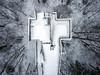 abandoned ski jump ([AndreasS]) Tags: holmen asker skijump hoppbakke norway winter drone dji mavic pro
