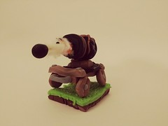 Front View of the Polymer Clay Cannon Cart (Sasha CraftSpace) Tags: polymerclay clay clashroyale clashofclans clayclaim sashacraftspace war cannon cannonball cannoncart beautiful elegant art midair timelapse frozen exploding explosion trojan fimo fight bronze colors