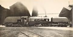 "South African Railways - SAR Class GEA ""Beyer Garratt"" type 4-8-2+2-8-4 steam locomotive Nr. 4001 (Beyer Peacock Locomotive Works, Manchester-Gorton 7168 / 1945) (HISTORICAL RAILWAY IMAGES) Tags: steam locomotive sar bp beyerpeacock manchester gorton garratt southafrican railways"