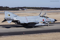 Japan Air Self Defence Force, McDonnell Douglas F-4EJ Kai Phantom II, 17-8440. (M. Leith Photography) Tags: mark leith photography japan japanese self air defence force jasdf mcdonnell douglas phantom f4 ibaraki hyakuri sunshine base fighter nikon d7000 d7200 70200vrii 300mmf4 nikkor asia flying military sky building airplane cockpit aircraft jet