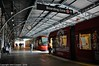 Sydney Light Rail - LRV2120 and LRV2121 share the light at Railway Colonnade (john cowper) Tags: sydneylightrail railwaycolonnade central centralrailwaystation terminus lrv2121 lrv2120 shared light historicbuilding transportfornsw transdev urbos3 caf sydney newsouthwales