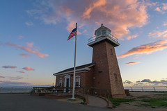Lighthouse (Dancing.With.Wolves) Tags: surf museum lighthouse waves swell light sun star color nature architecture unlimited endless sky clouds burst brick wall old history special place happy