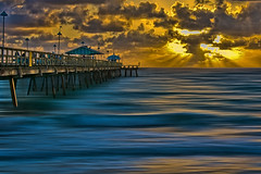 Anglin's Fishing Pier, 2 Commercial Boulevard, town of Lauderdale-by-the-Sea, Broward County, Florida, USA (Photographer South Florida) Tags: anglinsfishingpier 2commercialboulevard townoflauderdalebythesea browardcounty florida usa sunrise atlanticocean waves fortlauderdale ftlauderdale city cityscape urban downtown skyline southflorida density centralbusinessdistrict skyscraper building architecture commercialproperty cosmopolitan metro metropolitan metropolis sunshinestate realestate veniceofamerica newriver lauderdalebythesea yextflorida