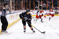 "Kansas City Mavericks vs. Allen Americans, February 24, 2018, Silverstein Eye Centers Arena, Independence, Missouri.  Photo: © John Howe / Howe Creative Photography, all rights reserved 2018 • <a style=""font-size:0.8em;"" href=""http://www.flickr.com/photos/134016632@N02/40458446192/"" target=""_blank"">View on Flickr</a>"