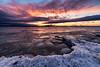 Burlington Sunset, Feb 2018 II (Dino Sokocevic) Tags: sunset vermont vt newengland landscape landscapes nikon nikonusa ice icy winter frozen