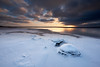 Winter light (allan-r) Tags: winter snow ice beach sunset light rocks boulders sea baltics lahemaa tsitre frozen fujifilm xt2 xf1024mm