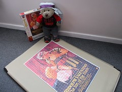 Sex thimble (pefkosmad) Tags: jigsaw puzzle leisure hobby pastime clementoni complete used secondhand thesonofthesheik poster film movie rudolphvalentino vilmabanky silentmovie valentinoslastfilm posthumousrelease tedricstudmuffin teddy ted animal toy cute cuddly soft stuffed plush fluffy