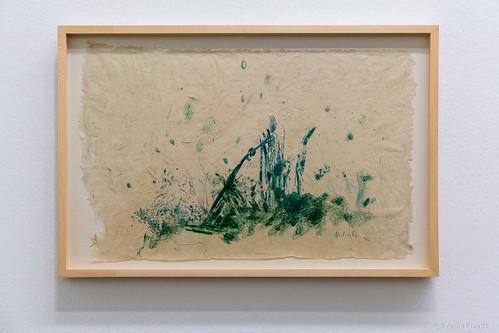 Max Weiler: Rasenstück / Piece of Turf, 1982