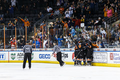 """Kansas City Mavericks vs. Ft. Wayne Komets, March 2, 2018, Silverstein Eye Centers Arena, Independence, Missouri.  Photo: © John Howe / Howe Creative Photography, all rights reserved 2018 • <a style=""""font-size:0.8em;"""" href=""""http://www.flickr.com/photos/134016632@N02/40598288272/"""" target=""""_blank"""">View on Flickr</a>"""