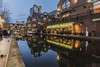 Brindleyplace (tim.clarke37) Tags: brindleyplace birmingham canal bcn canals canon canoneos canon5d night nighttime nightime nightsky dusk west midlands