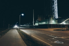 Industrial night (mripp) Tags: art vintage retro old industry industrial color colors street strafe night nacht leica q bavaria bayern verlassen lost traces