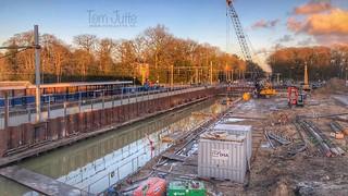 Work in progress, Station Driebergen-Zeist, Netherlands - 0718
