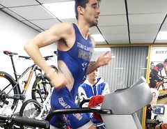 Adrián Mancheño triatlón Indoor team clavería triatlón World 6