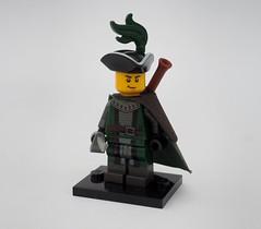 Eslandolan Elite Infantryman (Robert4168/Garmadon) Tags: brethrenofthebrickseas minifigure lego eslandola elite infantryman soldier dark green musket