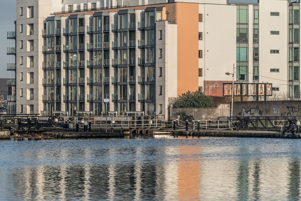 GRAND CANAL DOCK AREA OF DUBLIN [PHOTOGRAPHED 11 JANUARY 2018]-135435