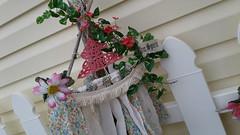 Dreamcatcher, wall hanging, pink, doily, driftwood, natural, doily, jazzie menagerie (Jazzie Menagerie) Tags: dreamcatcher wallhanging pink doily driftwood natural jazziemenagerie
