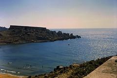 Malta 1966 (dindolina) Tags: photo fotografia diapositiva color malta isle isola vacation vacanze summer estate sea mare 1966 1960s sixties annisessanta vintage landscape panorama