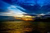 Sunset On The Horizon (Rizky-) Tags: sunset sky cloud horizon sea ocean landscape