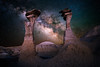The Dome of Silence (Matt Payne Photography) Tags: astrolandscape bistidenazinwilderness bistibadlands denazinwilderness galacticcenter galaxy geology hoodoo landscape loxia21 milkyway newmexico night nightscape sonya7rii stars wilderness