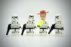 LEGO Stormtrooper Woody (Pasq67) Tags: lego minifigs minifig minifigure minifigures afol toy toys flickr legography pasq67 starwars stormtrooper france woody 2018 toystory pixar disney