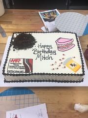 overthehill (1) (backhomebakerytx) Tags: birthday cake dirt old pills fondant backhomebakery