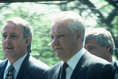 2e.Yeltsin and the Canadian prime minister, the Kremlin, 9th May 1993