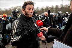 Jean-Marc Belotti (dprezat) Tags: belotti manifestation motards ffmc motardsencolère radar 80 sécuritéroutière contest protest opposition vincennes moto motocycle biker people portrait nikond800 nikon d800
