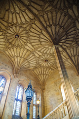 (peaflockster) Tags: europe england oxford oxfordshire travel winter vaulting fan architecture