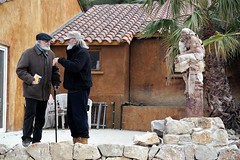 L´artista filòsof (puigoll. Josep Puighermanal i Lluïsa Valls) Tags: artista escultura creació filosofia conversa art creation conversation philosophy filosofía