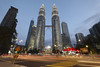 The Petronas Towers (fredMin) Tags: street city cityscape travel petronas malaysia kuala lumpur asia skyscraper buildings tall fujifilm xt1 1024