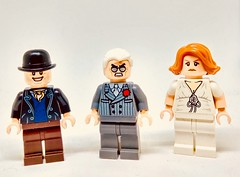 Firefly Baddies (Barratosh#2) Tags: lego minifigure firefly serenity joss whedon whedonverse river tam jayne cobb badger niska saffron malcolm reynolds browncoats space western