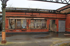 Platform rooms. (North Ports) Tags: mayfield train station manchester piccadilly disused platforms redevelopment jonathan schofield tours ui mayfieldmcr mcr 1910 abandoned city centre buffers graffiti reflection concourse rail network british steam locomotive parcel depot internal external heritage history architecture