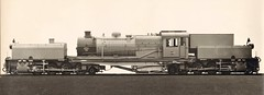 "South African Railway - SAR ""Beyer Garratt"" type Class GE 2-8-2+2-8-2 steam locomotive Nr. 2276 (Beyer Peacock Locomotive Works, Manchester-Gorton 6716 / 1930) (HISTORICAL RAILWAY IMAGES) Tags: steam locomotive bp beyerpeacock manchester gorton garratt sar southafrican railway"